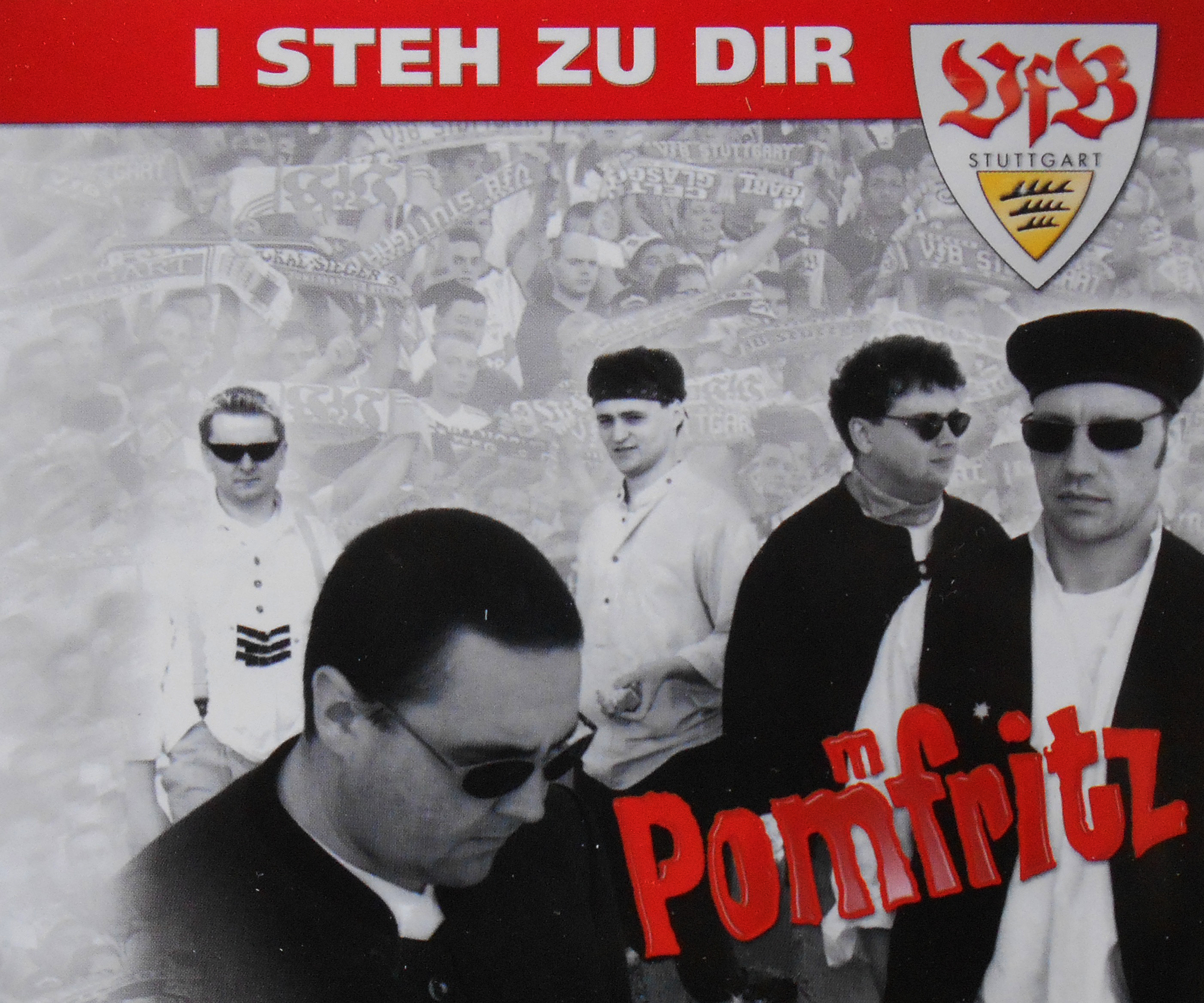 VFB-I steh zu Dir – Fan-Single-CD (1995)